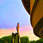 Hirshhorn Sky Art Print