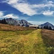 #hirzer #altoadige #südtirol #mountain Art Print