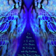 Beneath His Wings 2 Art Print