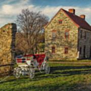 Historic Bethlehem Pennsylvania Art Print