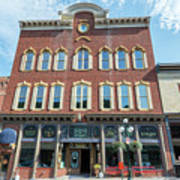 Historic Buildings Deadwood South Dakota Art Print