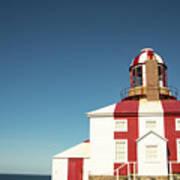 Historic Cape Bonavista Lighthouse, Newfoundland, Canada Art Print