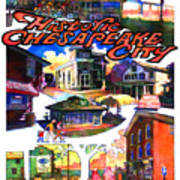 Historic Chesapeake City Poster Art Print