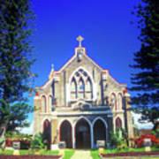 Historic Church Maui Art Print