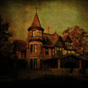 Historic House Art Print