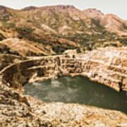 Historic Iron Ore Mine Art Print