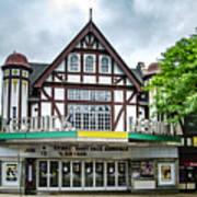 Historic Keswick Theater In Glenside Pa Art Print