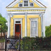Historic Louisiana Cottage Art Print