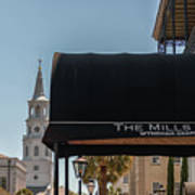 Historic Mills House Lodging Art Print