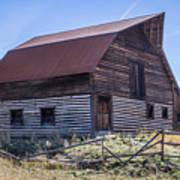 Historic More Barn Art Print
