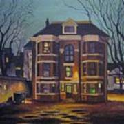 Historic Property South End Haifax Art Print