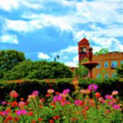 Historic Rochester Gardens Art Print