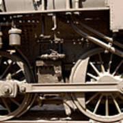 Historic Trains Art Print