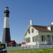 Historic Tybee Island Lighthouse II Art Print