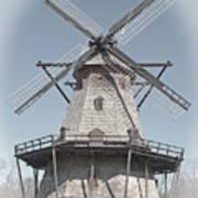 Historic Windmill Art Print