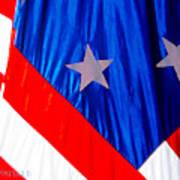 Historical American Flag Art Print