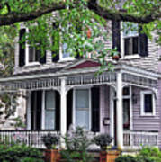 Historical Home In Wilmington Art Print