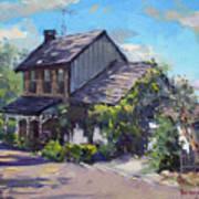 Historical House Ontario Art Print