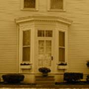 Historical Housing Fort Leavenworth Art Print