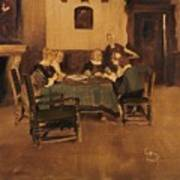 Historical Interior Art Print