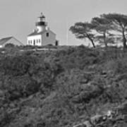 Historical Lighthouse- Point Loma Art Print