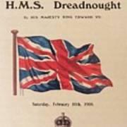 Hms  Dreadnought Art Print