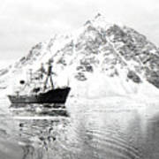 Hms Endurance Antarctic Ice Patrol Ship Art Print