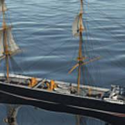 Hms Warrior 1860 - Stern To Bow Ocean Art Print