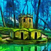 Hobbit's Castle Art Print