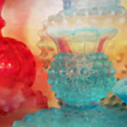 Hobnail Glassware Art Print
