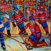 Hockey  Hero Art Print