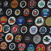 Hockey Pucks Art Print