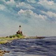 Hogby Lighthouse Art Print