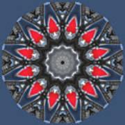 Valkyrie Kaleidoscope 2 Art Print