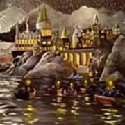 Hogwarts Castle 2 Art Print