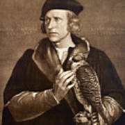 Holbein: Falconer, 1533 Art Print