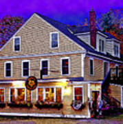 Holderness General Store Art Print