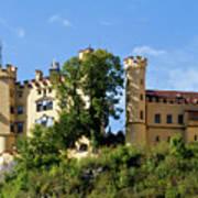 Holenschwangau Castle 4 Art Print