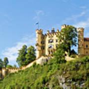 Holenschwangau Castle 5 Art Print