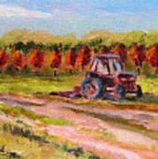 Holicong Road Farm Art Print