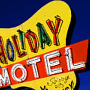 Holiday Motel Art Print