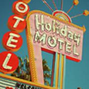 Holiday Motel, Las Vegas Art Print