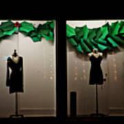 Holiday Window Fashion Art Print