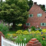 Holland English Garden Art Print