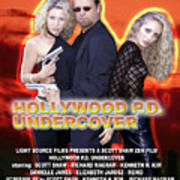 Hollywood P.d. Undercover Print by The Scott Shaw Poster Gallery