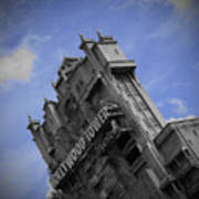 Hollywood Studio's Tower Of Terror Art Print by AK Photography