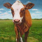 Holy Cow Art Print