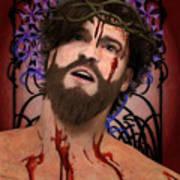 Holy Face Of Ecce Homo Art Print
