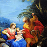 Holy Family Art Print