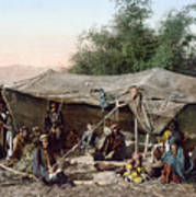 Holy Land: Bedouin Camp Art Print